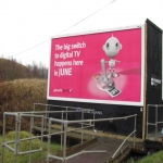 Bus Side Adverts in Amerton 12