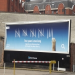 Electronic Billboard Adverts in Strand 11