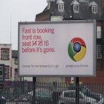 Electronic Billboard Adverts in Strand 9