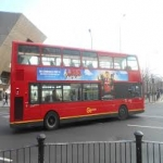Bus Side Adverts in Crossway 2