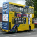 Bus Side Adverts in Crossway 11