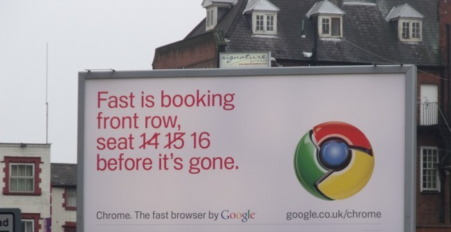 Billboard Advert Sizes in Aber Village